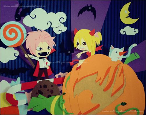 anime fairy tail halloween - 8364317184