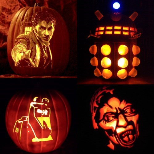 doctor who jack o lanterns halloween - 8364387584
