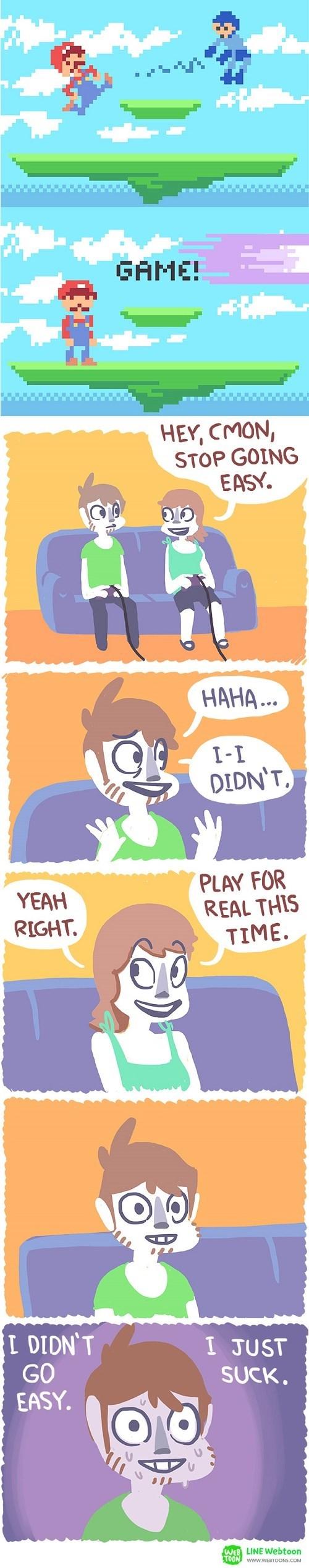 gaming shame super smash bros web comics - 8364388864