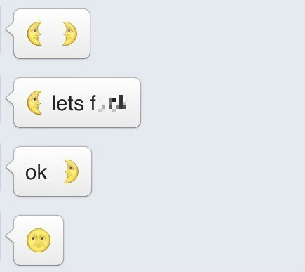 emoji,emoticons,sexy times,texting