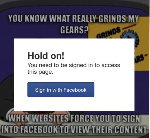 facebook,you know what really grinds my gears