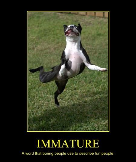 fun dogs boring immature caption - 8364812288
