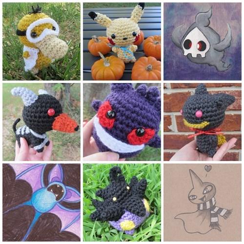 Pokémon halloween awesome - 8365203712