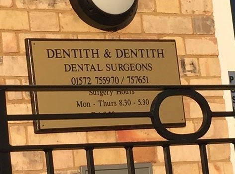 sign,dentist,coincidence