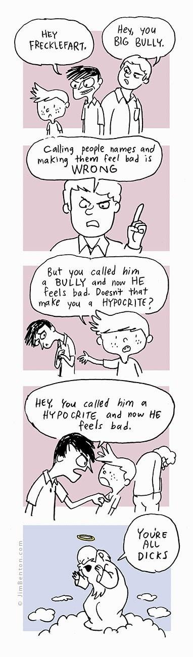god bully bullies sad but true web comics - 8365251584