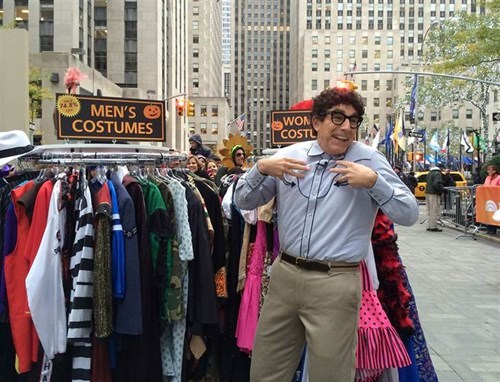 costume halloween SNL today show