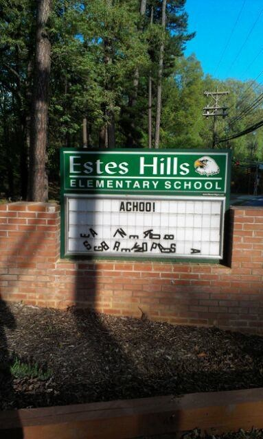 school,school signs,sneezing