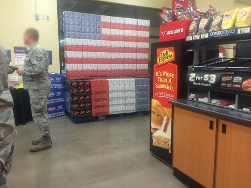 old glory,flags,energy drinks,monster energy