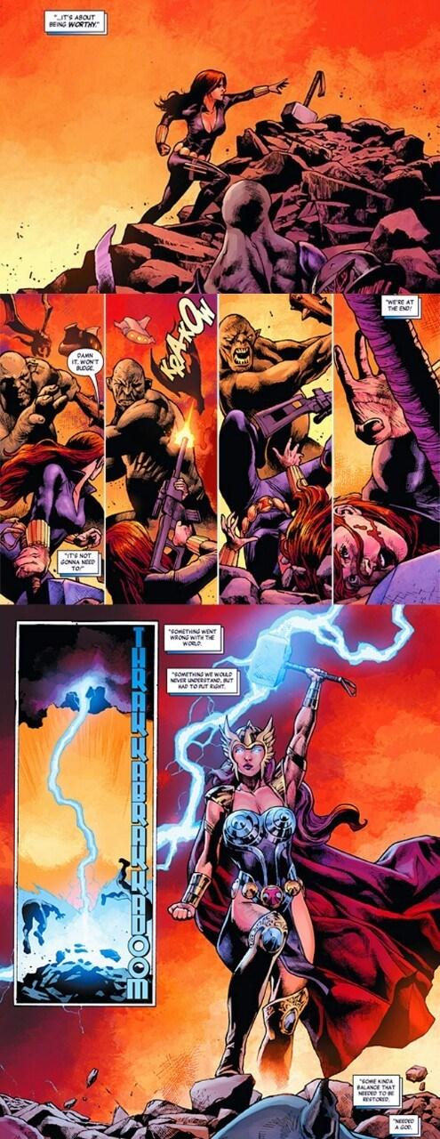 The Avengers Black Widow mjolnir - 8365343488