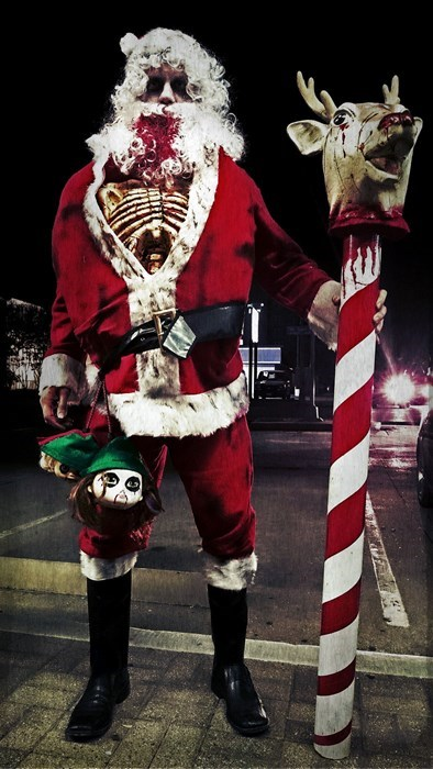 christmas halloween santa claus - 8365387264