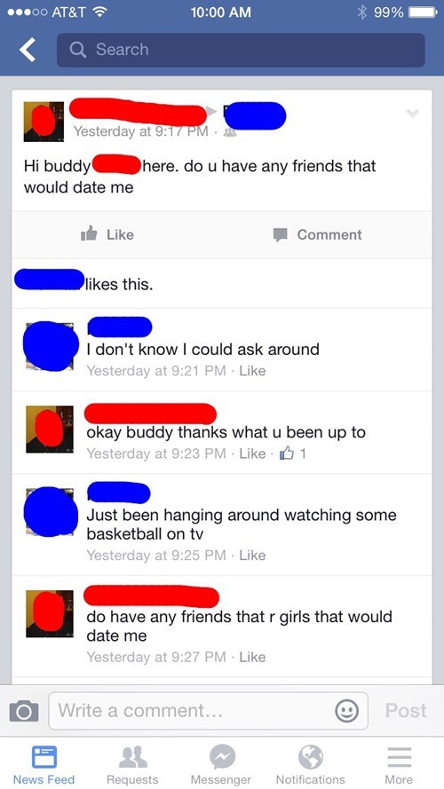 forever alone facebook dating - 8365435136