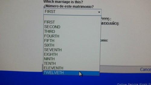 marriage wtf idiots funny - 8365437440