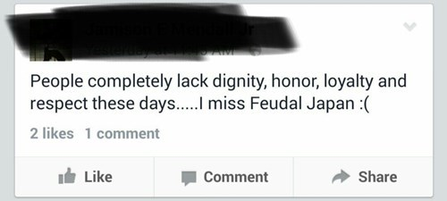 feudal japan,facebook,Japan