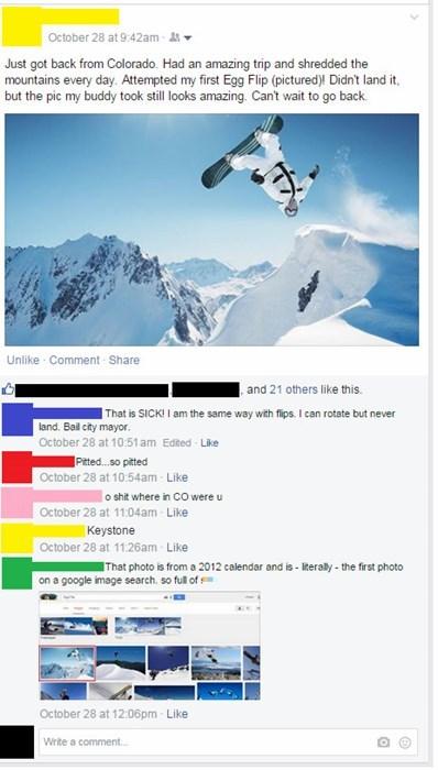 liar,fake,snowboarding