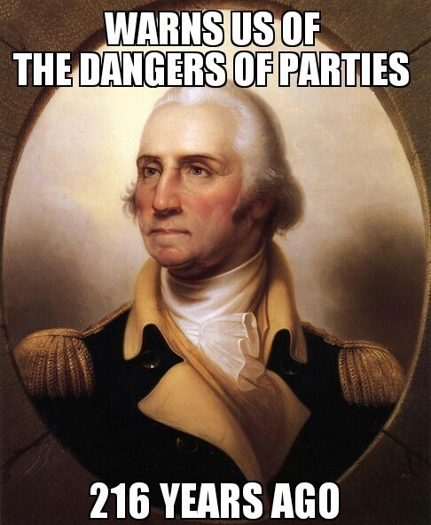 Congress george washington Party party hard partying - 8365650688