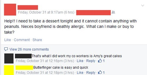 bad idea,allergies,food,failbook,g rated