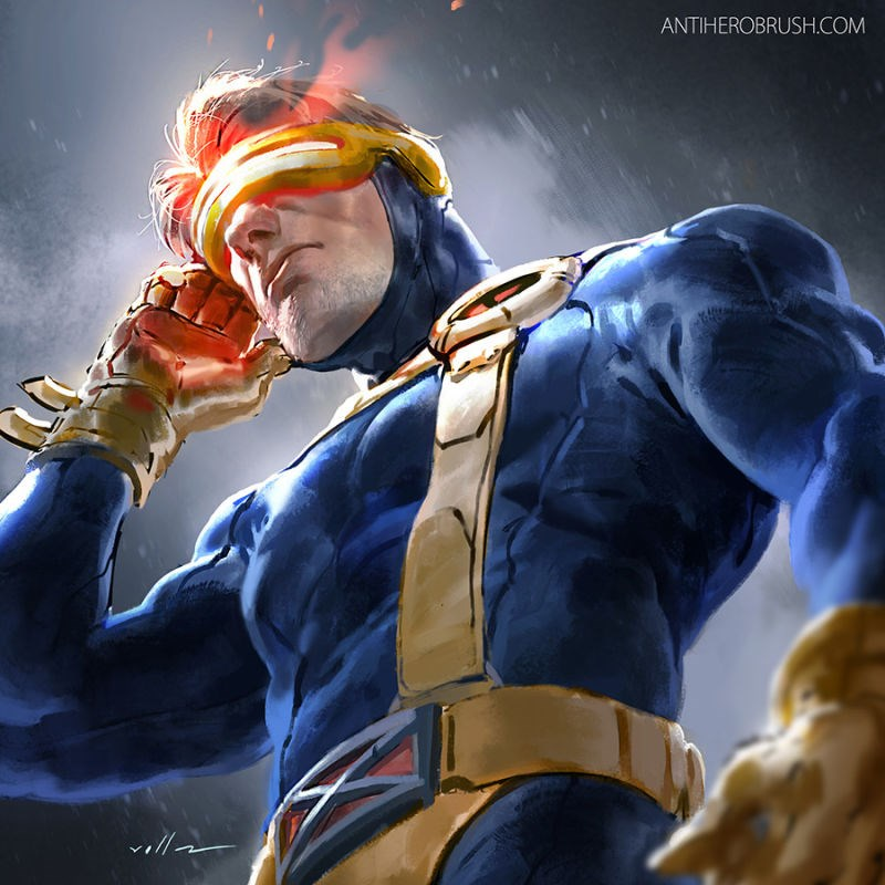 art x men cyclops superheroes fans win jean grey