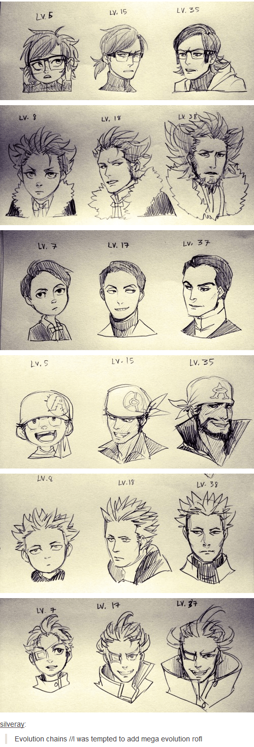 Evolution of Villainous Team Leaders