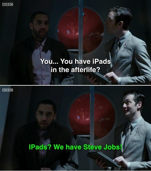 12th Doctor,afterlife,steve jobs,danny pink