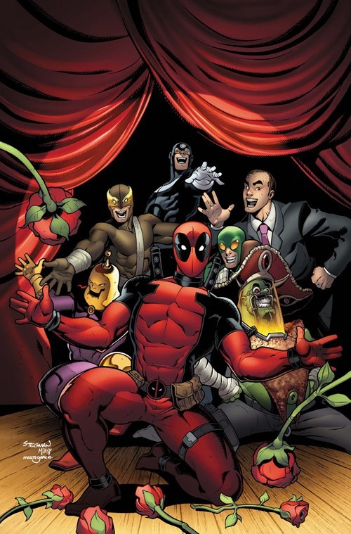 deadpool Straight off the Page - 8366769408