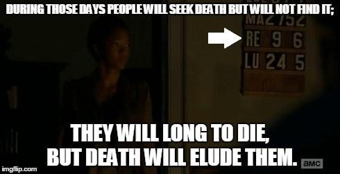 scripture The Walking Dead - 8366921472
