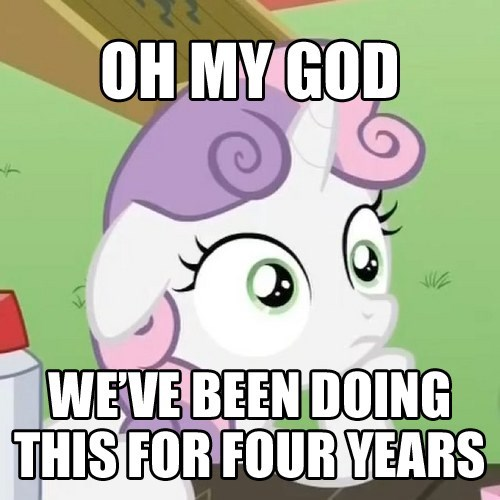 Sweetie Belle sudden clarity - 8367362816
