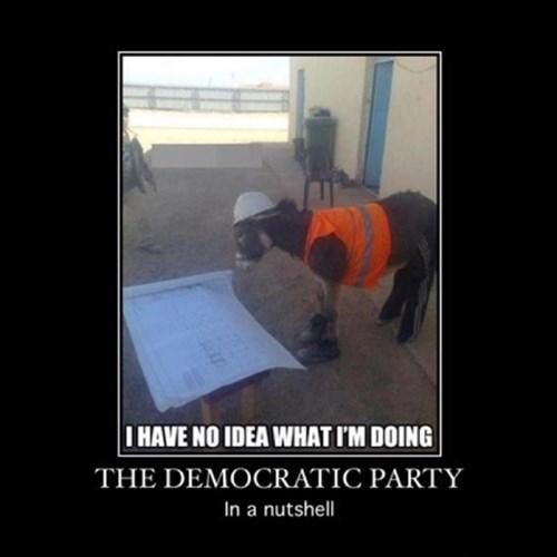 democrats construction donkey funny - 8367386880
