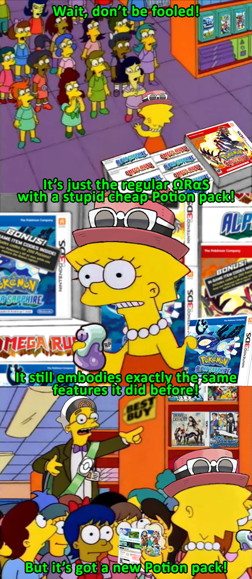 Pokémon ORAS Lisa Simpson the simpsons - 8367422720