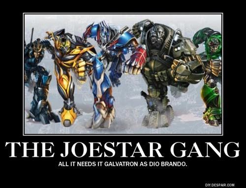 transformers JoJo's Bizarre Adventure - 8367580672