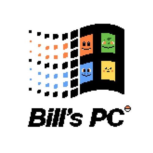 Pokémon,windows,bill