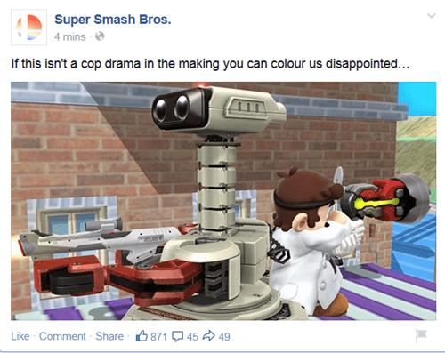 super smash bros r.o.b. Dr Mario - 8367848448