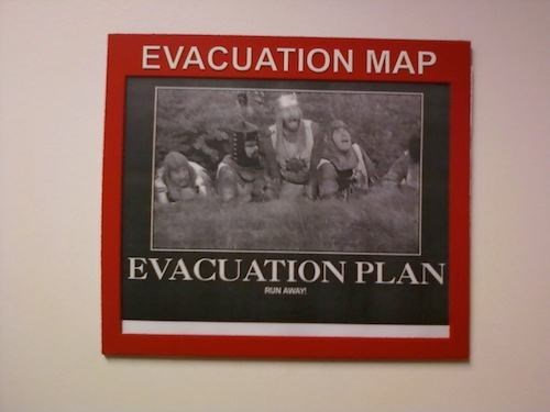 monday thru friday,plan,monty python,evacuation,g rated