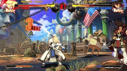 guilty gear xrd,murica,fighting games,video games