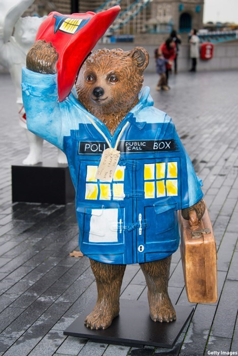 Peter Capaldi paddington bear doctor who - 8368289536