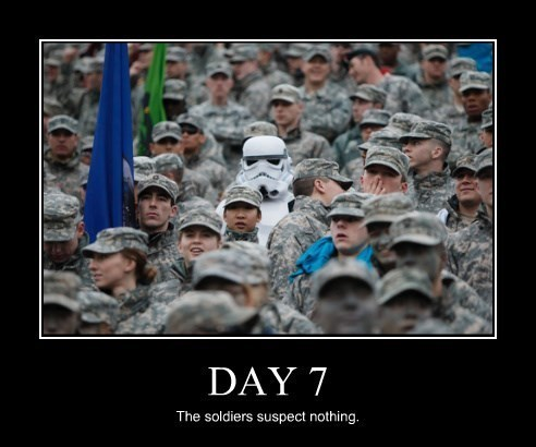 funny star wars soldiers stormtrooper - 8368347904