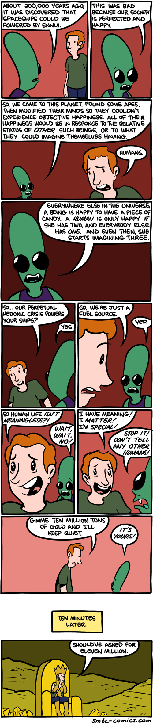 Aliens,ennui,sad but true,web comics