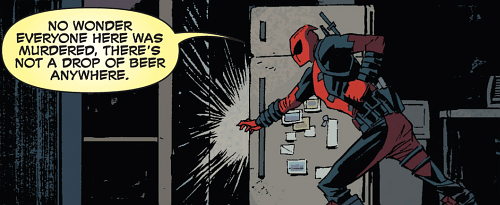 beer murder deadpool Straight off the Page - 8368393728