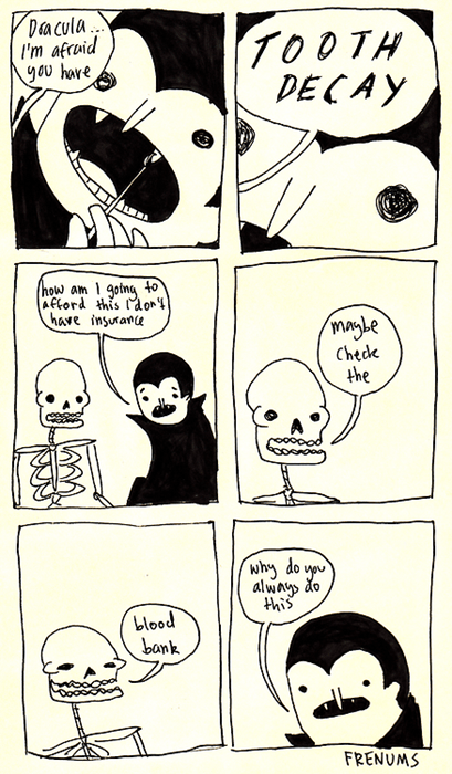 puns vampires skeletons web comics - 8368474880