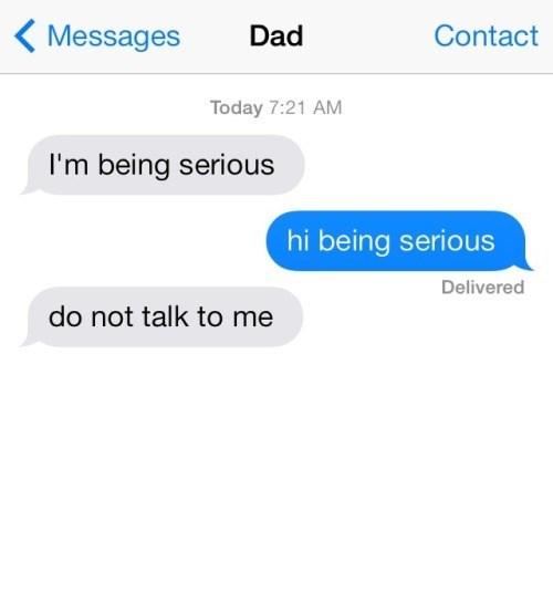 dads,dad jokes,parenting,texting