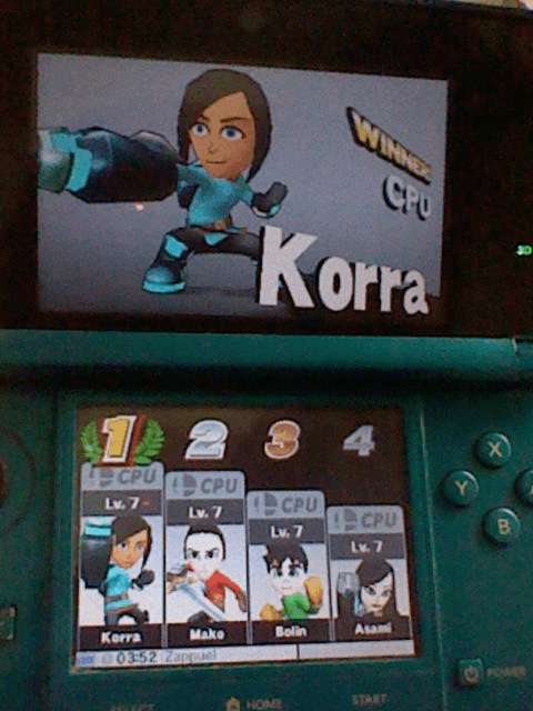 super smash bros Avatar korra - 8368520704