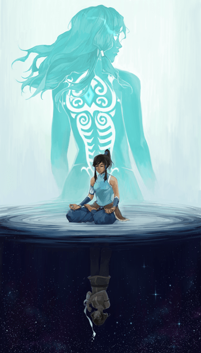 Fan Art Avatar korra - 8368521472