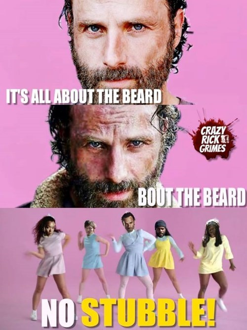 Rick Grimes beard all about the bass - 8368533760