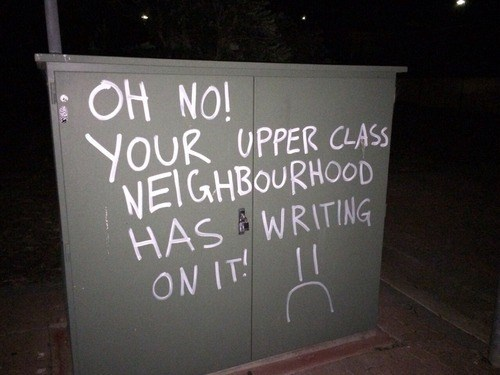graffiti First World Problems hacked irl - 8368619520