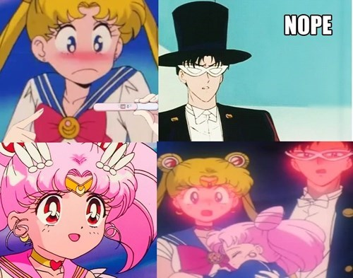 pregnancy announcement anime sailor moon - 8368689408