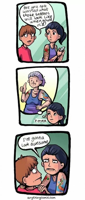 tattoos,old people,web comics