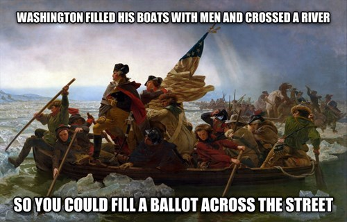 election day,vote,george washington,voting