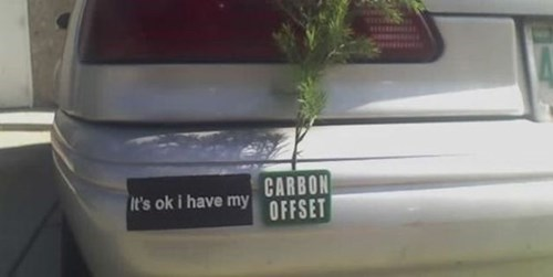 global warming cars bumper stickers - 8369242112