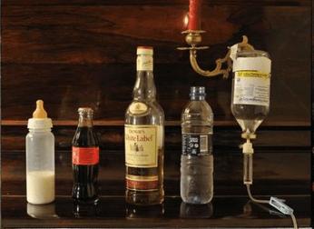 bottle,booze,whiskey,dewars,funny