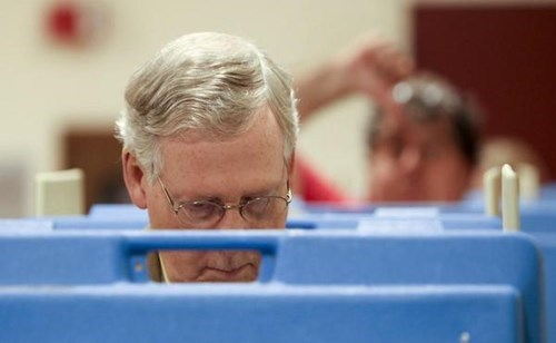 photobomb election mitch mcconnell - 8369326592