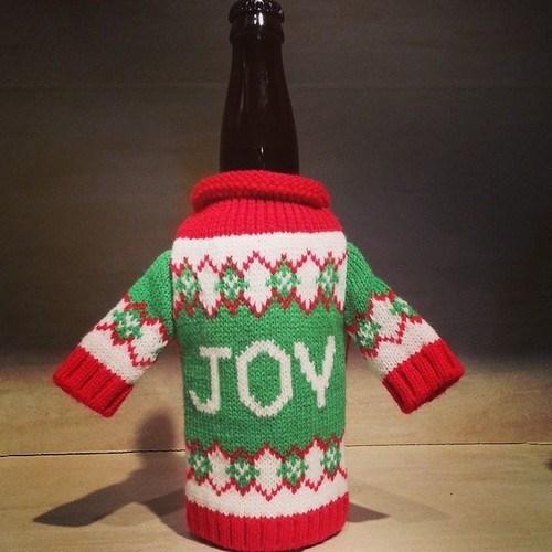 christmas beer koozie funny holidays - 8369356800